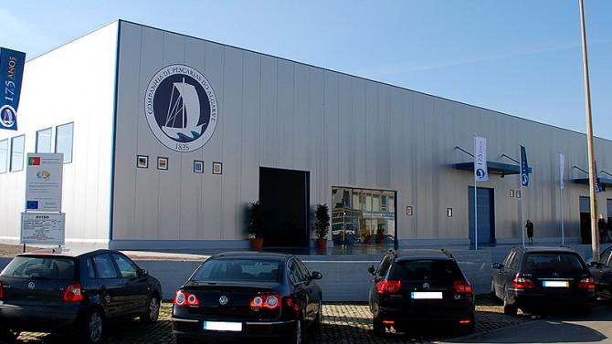 Companhia de Pescarias do Algarve - Fábrica